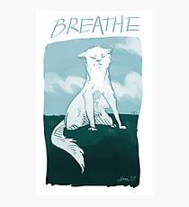 BREATHE Photographic Print