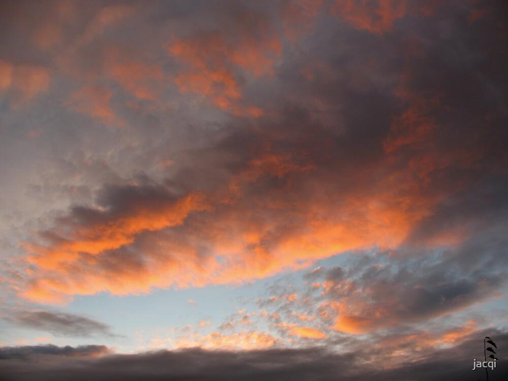 Northern Sunset Tonight by jacqi