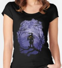 Zelda Majora's Mask Skullkid  Women's Fitted Scoop T-Shirt