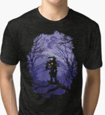 Zelda Majora's Mask Skullkid  Tri-blend T-Shirt