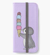 Ice Cream Penguin iPhone Wallet/Case/Skin