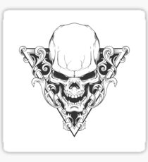Swirled Skull Design - Drawstring Bag/Tablet Case/IPhone Case/And More! Sticker