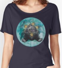 Lice in the fur - bear, Gaia, mother Earth Women's Relaxed Fit T-Shirt