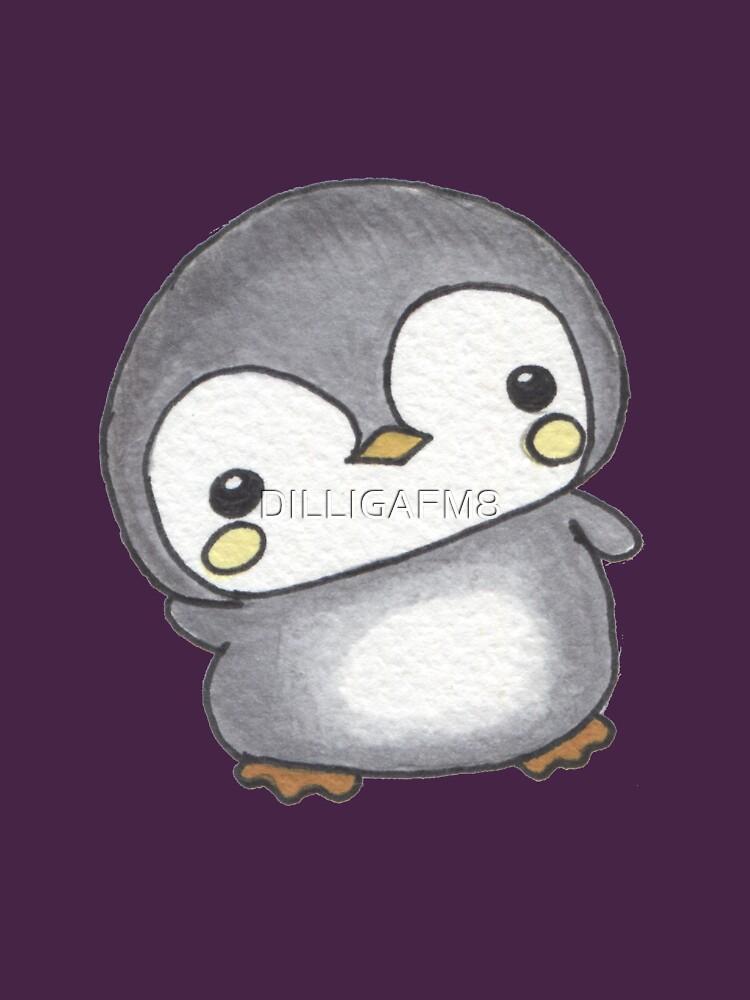Chubby Penguin by DILLIGAFM8
