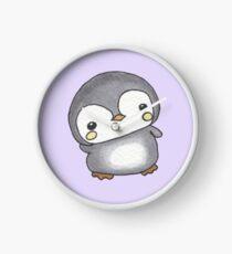 Chubby Penguin Clock