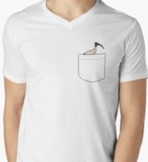 Pocket Bin Chicken Men's V-Neck T-Shirt