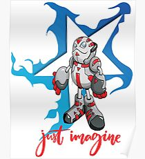 "Robobot ""Off to Mars"" / Bot Poster"