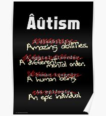 Autism - A Corrected List Poster