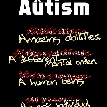 Autism - A Corrected List by -Au-