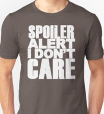 Spoiler Alert HD443 New Product T-Shirt