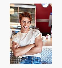 KJ Apa Photographic Print