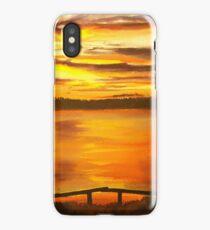 Heat of the Night, Sunset  iPhone Case/Skin