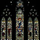 Window over Altar of St Paul's Anglican Cathedral, Melbourne, Australia by Bev Pascoe