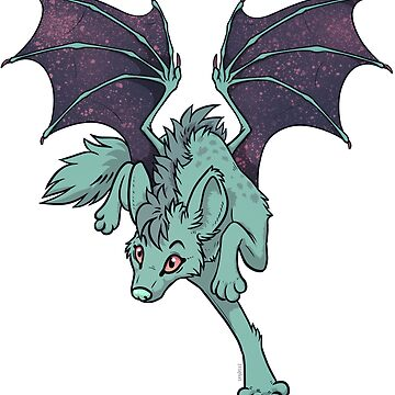 Galactic Drago-Yena: Teal by Zelaphas