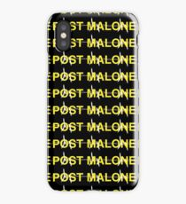 Post Malone Barbed Wire   T-Shirt Design   Post Malone UK Merch   Yellow iPhone Case/Skin