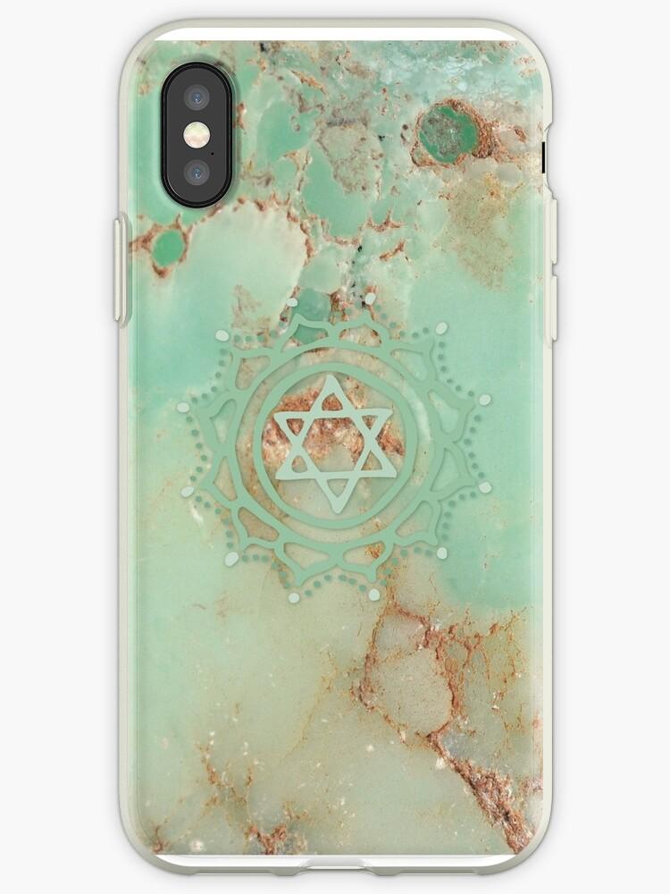 Heart chakra & jadeite stone by RedCloudDesign