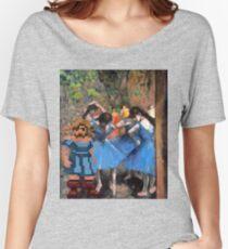 Guybrush dancer in blue Women's Relaxed Fit T-Shirt