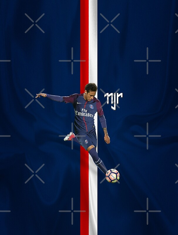 quotneymar psg logo 3dquot posters by storebylaurina redbubble