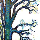 Contentment - Trees by Linda Callaghan