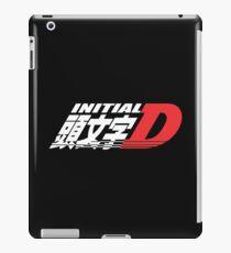 Initial D Logo Merchandise iPad Case/Skin