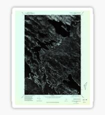 Maine USGS Historical Map Scraggly Lake SW 807133 1975 24000 Sticker