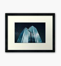 City of glass (1983) Framed Print