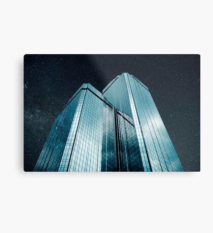 Stadt aus Glas (1983) Metallbild