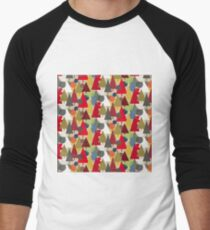 Abstract Forest with Christmas Trees and Balls No.2 T-Shirt