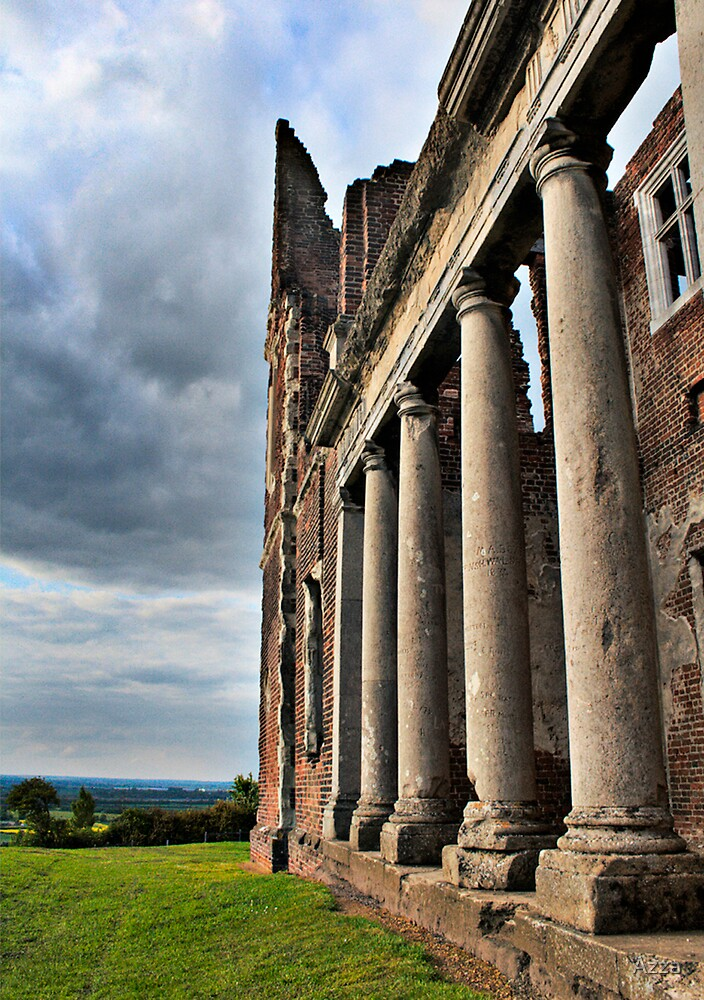 Columns of Houghton House by Azza