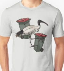 Lone Bin Chicken Unisex T-Shirt