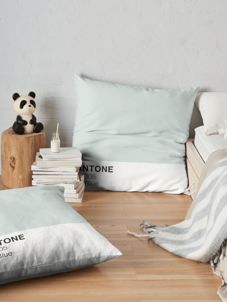 Alternate view of Spa Blue Pantone Floor Pillow
