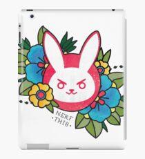 Tattoo • Bunny iPad Case/Skin