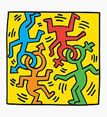 NYC Pride (Keith Haring)  Photographic Print