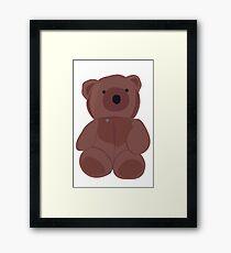 Beary chest Framed Print