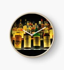 Whisky Bottles Clock