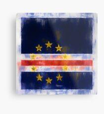 Cape Verde Flag Reworked No. 2, Series 1 Metalldruck