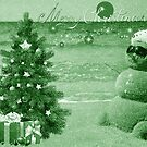 Southern Christmas Card GREEN by TJ Baccari Photography