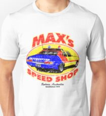 Mad Max's Speed shop Unisex T-Shirt