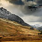 Mighty Tryfan Snowdonia by Adrian Evans