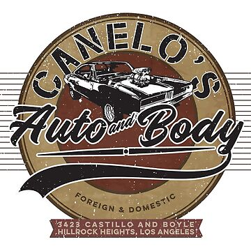 Canelo's Auto & Body (Ghostrider) by thebatteryhuman