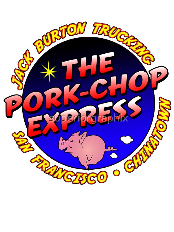 Pork chop express jack burton trucking by superiorgraphix