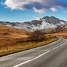 Wnter Scenery Snowdonia by Adrian Evans