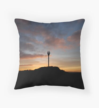 Danby Beacon Sunset. 2 Throw Pillow