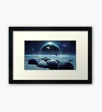 Fantasy Planet Framed Print