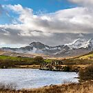 Mountain Landscape Snowdonia by Adrian Evans