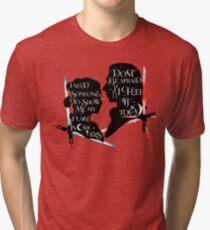reylo - sabers Tri-blend T-Shirt