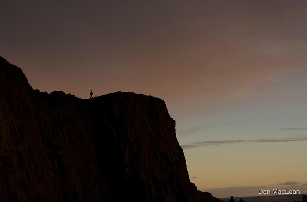 walking back from the edge by Dan MacLean