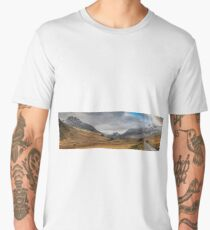 Winter in Snowdonia Men's Premium T-Shirt