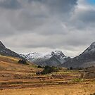 Winter in Snowdonia by Adrian Evans