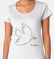 Picasso Peace Dove Premium Scoop T-Shirt